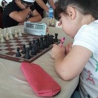 Photo taken at Gediz Spor Salonu by Mehtap G. on 6/17/2017