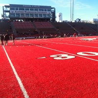 Photo taken at Roos Field by Reggie R. on 12/8/2012