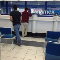 Photo taken at Banamex by Dario E. on 8/28/2013