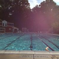 Photo taken at Hadley Farms Pool by Ellyana E. on 8/10/2013
