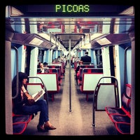 Photo taken at Metro Picoas [AM] by Andrea G. on 4/17/2013