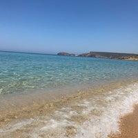 Photo taken at Spiaggia di Pistis by Pablo T. on 6/3/2017
