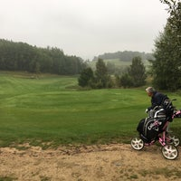 Photo taken at Ypsilon Golf Resort Liberec by Katerina K. on 9/17/2016