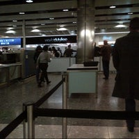 Photo taken at Security/Passport Control - T4 by Rebecca H. on 3/2/2013