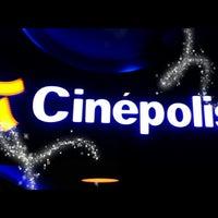 Photo taken at Cinépolis by Edwin D. on 3/20/2013
