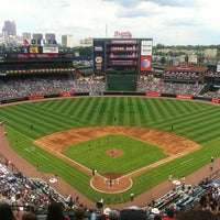 Photo taken at Turner Field by Haley B. on 6/30/2013