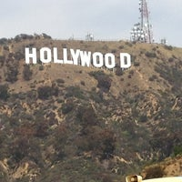 Photo taken at Hollywood Sign Vista Point by Damien S. on 4/7/2013