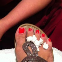 Photo taken at Lin's Charming Nail Spa by Janet A. on 6/27/2013
