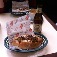 Photo taken at Primo's Gourmet Hotdogs by Mark H. on 7/24/2013