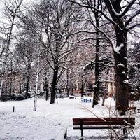 Photo taken at Parc Roger Salengro by Sherif K. on 1/19/2013