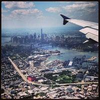 Photo taken at LaGuardia Airport (LGA) by Nigel R. on 6/15/2013