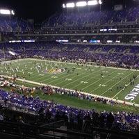 Photo taken at M&T Bank Stadium by Jason U. on 9/27/2012