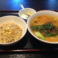 Photo taken at チャイニーズ食堂 菜々 by chikuwan_time on 5/1/2013