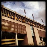 Photo taken at Tiger Stadium by Zach S. on 1/12/2013
