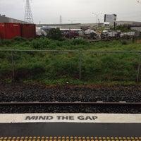 Photo taken at Onehunga Train Station by Clarke B. on 7/3/2014