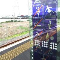 Photo taken at Onehunga Train Station by Clarke B. on 2/14/2016