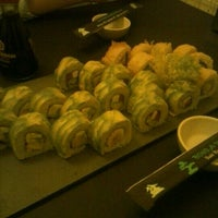 Photo taken at Bonsai Sushi Delivery by Marcela C. on 10/28/2012