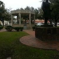 Photo taken at San Augustin Plaza by Eduardo M. on 2/5/2014