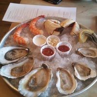 Photo taken at Thames Street Oyster House by Cindy B. on 7/26/2014