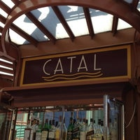 Photo taken at Catal Restaurant by Paul W. on 10/5/2012