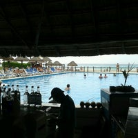 Photo taken at Occidental Vacation Club First Club Lounge At Allegro Playacar by Elena O. on 4/12/2013