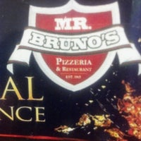 Photo taken at Mr Bruno's Pizzeria & Restaurant by Edu D. on 10/24/2012