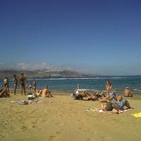 Photo taken at Playa Grande by Elen on 9/28/2013