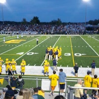 Photo taken at Memorial Field EGR Stadium by Terence M. on 9/28/2012
