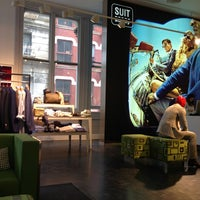Photo taken at SuitSupply by Insiya D. on 3/13/2013