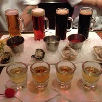 Photo taken at The Brooklyn Seafood, Steak & Oyster House by Yvonne on 12/16/2012