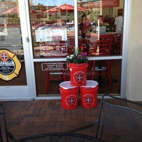 Photo taken at Firehouse Subs by Tom M. on 10/14/2012