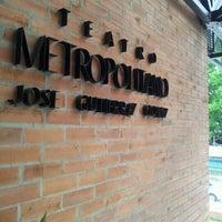 Photo taken at Teatro Metropolitano by Cata R. on 11/14/2012