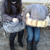 Photo taken at Скамейка by Sophia on 4/1/2013