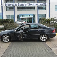 ... Photo Taken At Mercedes Benz Of Houston North By Victor L. On 2/