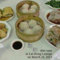 Photo taken at Lai Hong Lounge 荔香小館 by Jonas on 3/27/2013