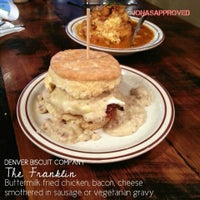 Photo taken at Denver Biscuit Company by Jonas on 5/2/2013