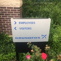 Photo taken at Grundfos Pumps Corporation by Joshua T. on 10/4/2017