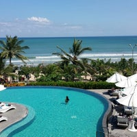 Photo taken at Sheraton Bali Kuta Resort by Bill H. on 7/31/2013