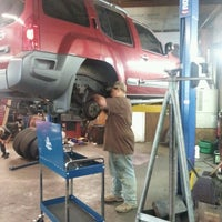 Photo taken at B & W Automotive & Repair by Christina on 10/14/2012