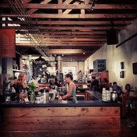 Photo taken at Four Barrel Coffee by herman c. on 3/22/2013