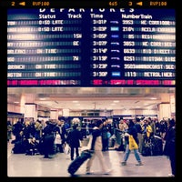 Photo taken at New York Penn Station (NYP) by Anthony S. on 4/24/2013