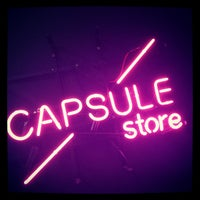 Photo taken at Capsule Store by capsule s. on 2/8/2013