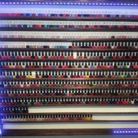 Photo taken at Happy Nails by LaLa A. on 12/21/2012