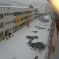 Photo taken at Fatih Koleji by Hamit Alp Ş. on 12/20/2012