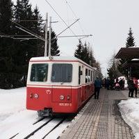 Photo taken at Železničná stanica Štrbské Pleso by Jakub . on 4/3/2018