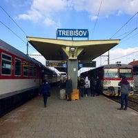 Photo taken at Železničná stanica Trebišov by Jakub . on 3/21/2018