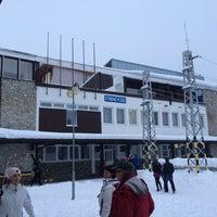 Photo taken at Železničná stanica Štrbské Pleso by Jakub . on 2/9/2018