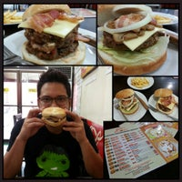 Photo taken at Gino's Burger by Joseph P. on 1/20/2014