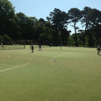 Photo taken at Bournemouth Gardens Tennis Centre by Andy P. on 6/8/2013