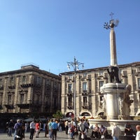 Photo taken at Piazza Duomo by Gipo M. on 10/21/2012